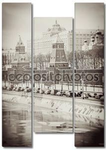 Московский Кремль в зимний период