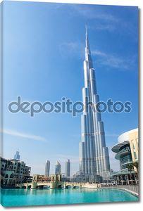 Дубай Бурдж Дубай (Dubai) башня - ОАЭ
