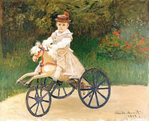Клод Моне. Жан Моне на механической лошадке