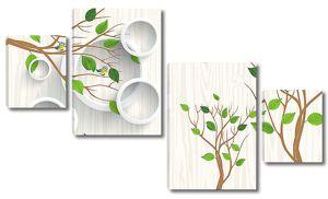 Кольца и деревья