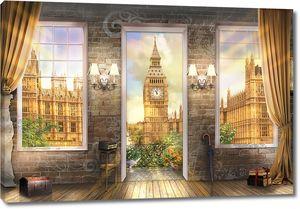 Лондон за окнами