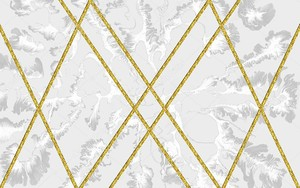 Золотистые диагональные пересекающиеся полосы