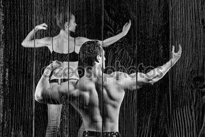 Бодибилдинг мужчина и женщина