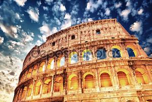 Прекрасный вид Колизей в всех его Наталью - осень Су