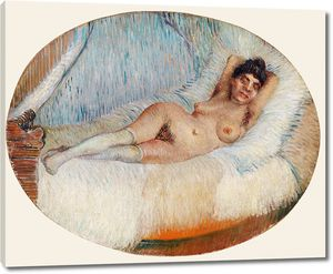 Ван Гог. Обнаженная женщина в кровати