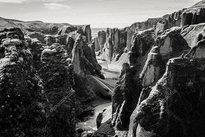 Каньон в Исландии