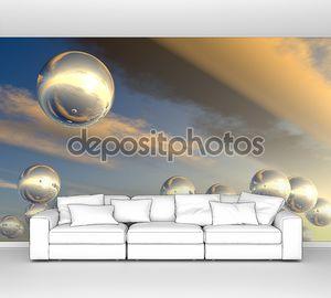 Сферах с отражением