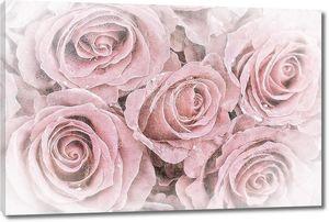 Пять розовых бутонов