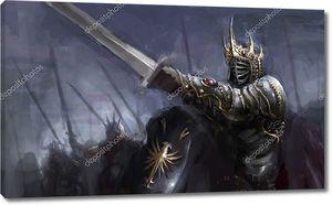 Фэнтезийный воин