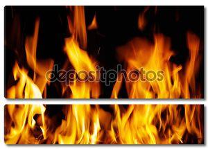 структура огня
