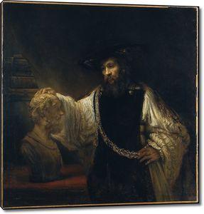 Рембрандт. Аристотель с бюстом Гомера