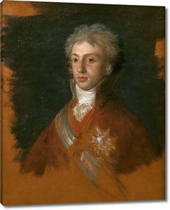 Гойя. Луи де Бурбон принц Пармский и король Этруриа