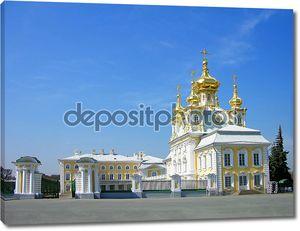 Церковь большого дворца в Петергофе