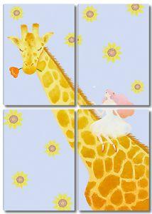 Принцесса на жирафе