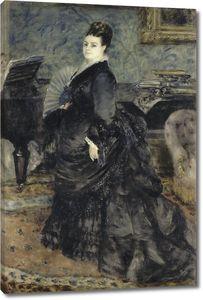 Пьер Огюст Ренуар. Женский портрет, названный мадам Жорж Гартманн