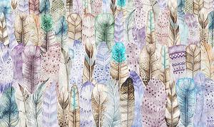 Лес из перьев