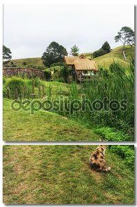 hobbiton мельница с кошкой