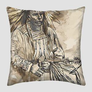 Рисунок молодого индейца