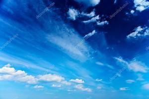 абстрактное синее небо