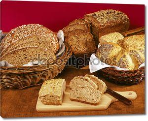 целый хлеб зерна