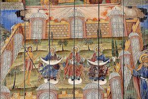 Фрески Рильский монастырь Болгарии