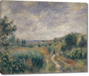 Пьер Огюст Ренуар. Пейзаж близ Эссуа