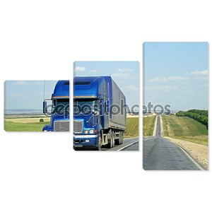 грузовик трейлера