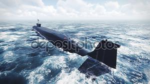 Подводные лодки России Borei в северной части воды 2