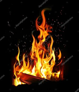 Записи журнала и огонь