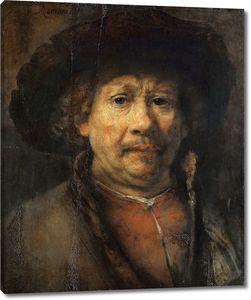 Рембрандт. Автопортрет (ок.1655)
