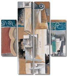 Пикассо Пабло. Гитара и скрипка
