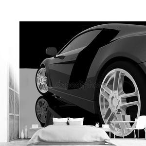 Диски черного автомобиля