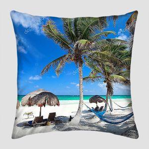 Красивый Карибский пляж