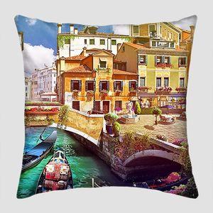 Прекрасная картина с солнечной Венецией
