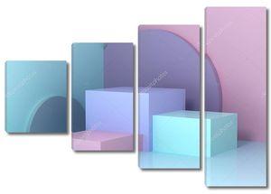 Геометрические разноцветные формы