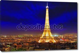Париж - 20 сентября: световое шоу выступление на 20 сентября, 20