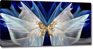 Абстракция из бабочек