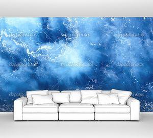 Синий цвет морской текстуры