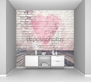 Граффити сердце