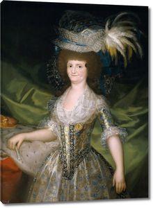 Гойя и Лусиентес Франсиско де. Мария Луиза Пармская, королева Испании