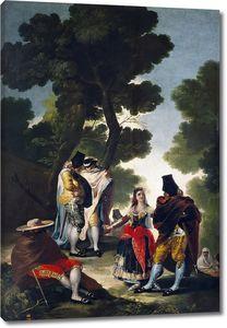 Гойя и Лусиентес Франсиско де. Прогулка в Андалусии