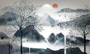 Хребты китайских гор