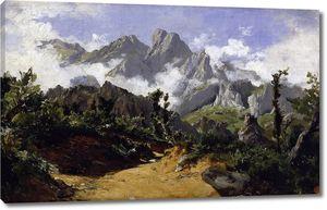 Аэс Карлос де. Горный пейзаж