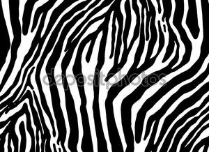 Зебра как текстуру