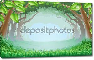 Красивые лесные сцены