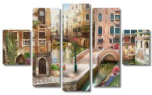 Одна из улочек Венеции
