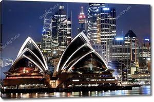 вид на гавань Сиднея