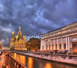 Ночь в Санкт Петербурге