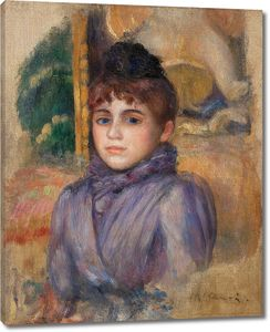 Ренуар. Портрет молодой женщины