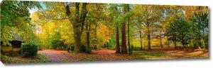 Ранней осенью в парке